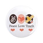 Peace Love Teach Teacher 3.5