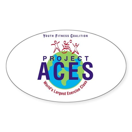 Project ACES Oval Sticker