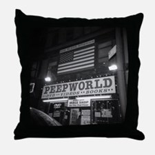 Cute God bless the world no exceptions Throw Pillow
