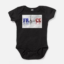 Cute France Baby Bodysuit
