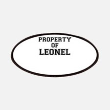 Property of LEONEL Patch