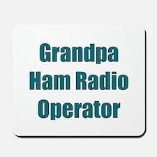 Grandpa Ham Radio Operator Mousepad