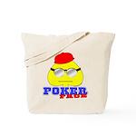 Poker Face (Spade) Tote Bag