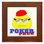 Poker Face (Spade) Framed Tile