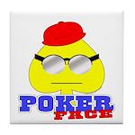 Poker Face (Spade) Tile Coaster