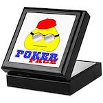 Poker Face (Spade) Keepsake Box