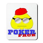 Poker Face (Spade) Mousepad