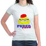 Poker Face (Spade) Jr. Ringer T-Shirt