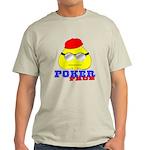 Poker Face (Spade) Light T-Shirt