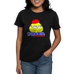 Poker Face (Spade) Women's Dark T-Shirt