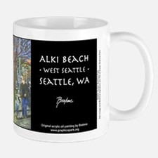 Alki Beach at West Seattle Mug