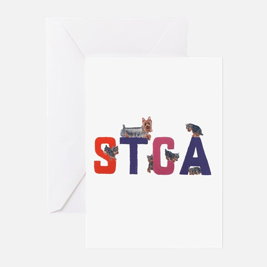 Color Logo Greeting Cards