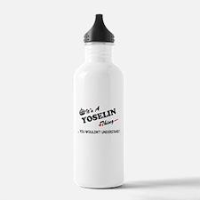 YOSELIN thing, you wou Water Bottle