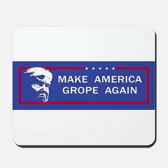 Make America Grope Again Mousepad
