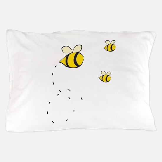 Honey Bee Pillow Case