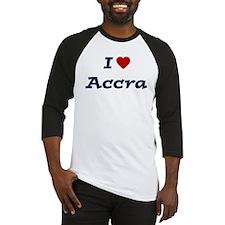 I HEART ACCRA Baseball Jersey