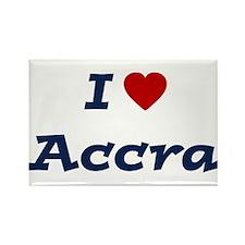 I HEART ACCRA Rectangle Magnet