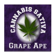 Grape Ape Tile Coaster