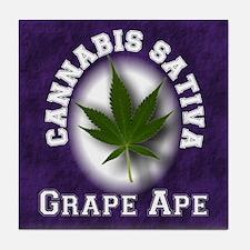 Grape Ape Tile Coaster
