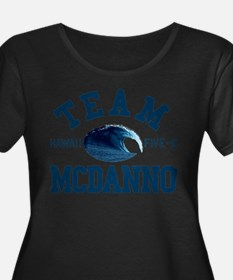 Team McDanno Hawaii Five 0 Plus Size T-Shirt