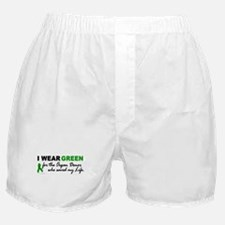 I Wear Green (Saved My Life) Boxer Shorts