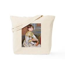 L'Enfant au chat  Tote Bag