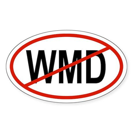 WMD Oval Sticker