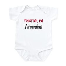 Trusty Me I'm Armenian Infant Bodysuit