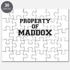 Property of MADDOX Puzzle