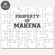 Property of MAKENA Puzzle