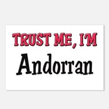 Trusty Me I'm Andorran Postcards (Package of 8)