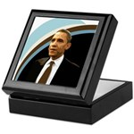 Barack Obama Campaign Keepsake Box