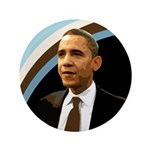 Huge Barack Obama Campaign Button