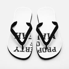 Property of MALEAH Flip Flops