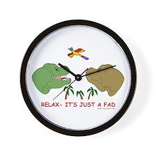 Cute Fad Wall Clock