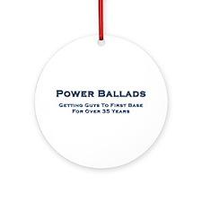 Power Ballad Power Ornament (Round)