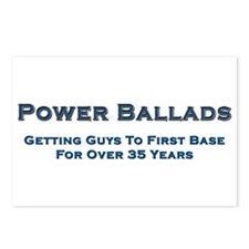 Power Ballad Power Postcards (Package of 8)