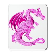 Pink Dragon Mousepad