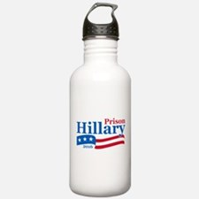 Hillary for prison Water Bottle
