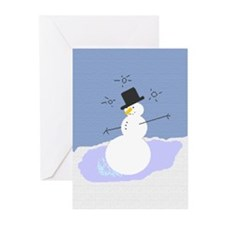 Tipsy the Snowman Greeting Cards (Pk of 20)