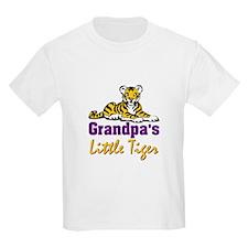 Grandpa's Little Tiger T-Shirt