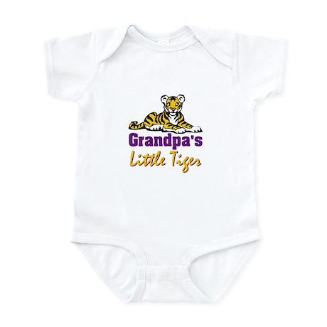 Grandpa's Little Tiger Infant Bodysuit