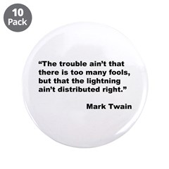 Mark Twain Quote on Fools 3.5