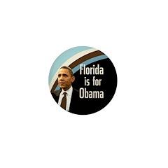 Florida is for Obama Mini Button