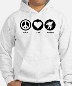 Peace Love Griffin Jumper Hoody