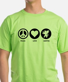 Peace Love Griffin T-Shirt