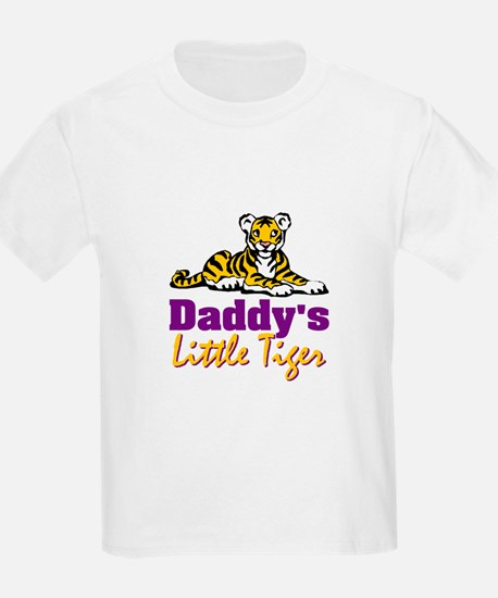 Daddy's Little Tiger T-Shirt