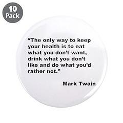 Mark Twain Quote on Health 3.5