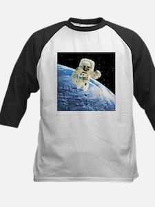 Composite image of a spacewalk over Earth - Baseba