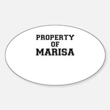 Property of MARISA Decal